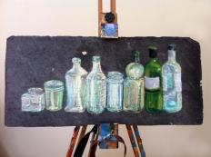 chalk-bottles