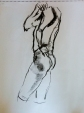life drawing, 10 Minute pose